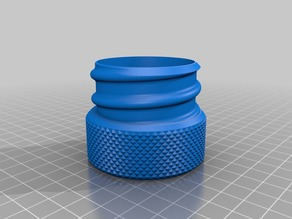 Remix of Threaded Container Built for Monograming