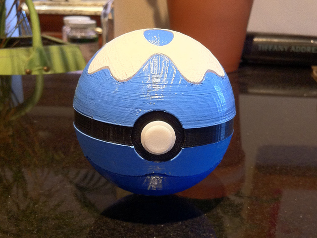 Dive Ball, with magnetic clasp