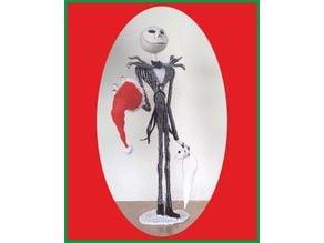 3d pen: Nightmare before Christmas - Jack Skellington