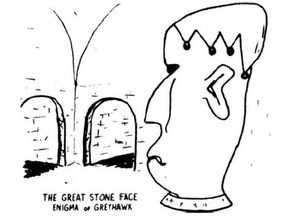 The Great Stone Face (for 28mm/Heroic scale)