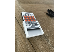 Wall mounted Holder for LED Strip Remote