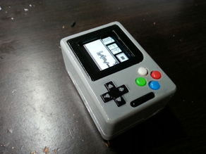 Gameboy Nano - Internal parts helper / Pièces d'aide à l'assemblage