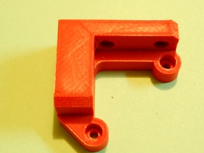 Y-axis motor mount for Prusa I3, CoreXY with FreeCAD files