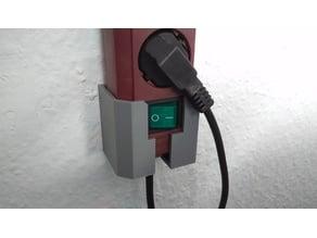 Brennenstuhl Eco-Line Steckdosenleiste Halterung / power strip holder