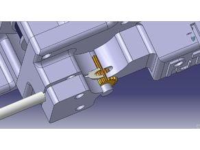 Riemen Extruder für Bowden und flexieblem Material / Belt driven Extruder for Bowden and flex material