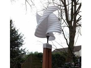 vertical windmill helix