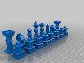 Custom Chess Pieces