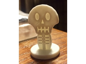 Simple Mini D&D Skeleton
