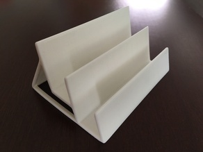 Double Business Card Holder