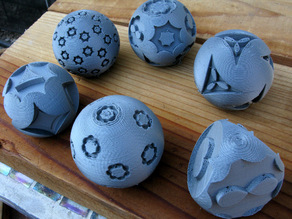 Decorating Spheres