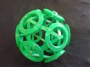300mm icosahedron / dodecahedron