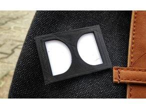 Dolby Logo Pin Badge