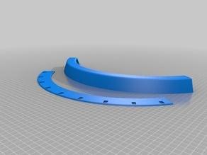 9 IR Sensor Curved RC Car Mount