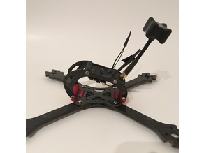 RC Reveicer and Antenna Mount - Flynoceros