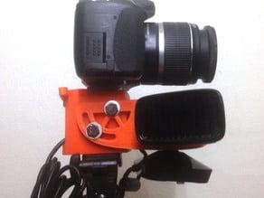 DSLR+Kinect mount
