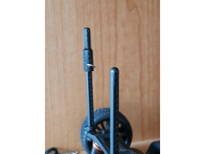 RC Model - Scale 1:10 - Car Body Extension Support