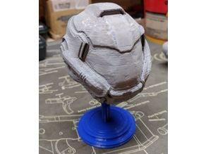 Doom marine helmet stand
