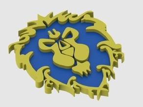 Warcraft alliance logo