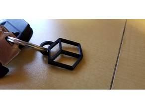 Hack The Box Cube Keychain