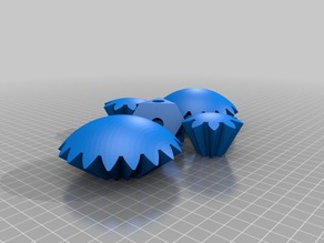 Screwless Sphere Gears