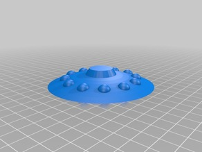 My Customized Flying saucer