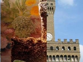 An Italian Renaissance Palazzo Sand Castle Mold