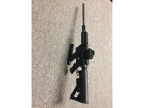 TNW Survival Rifle Vertical Wall Mount