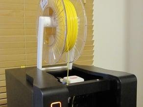 Improved spool holder for PP3DP UP! mini