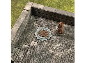 Sewer Entrance Marker (variant) (28mm/32mm scale)