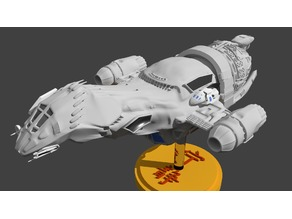 serenity firefly transport ship