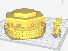 Warhammer 40K Gatling Pillbox 1:55