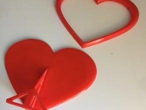 Heart Photoframe