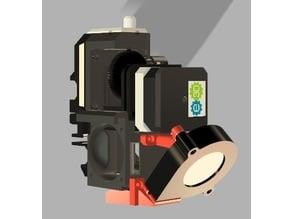 Prusa i3 MK3 titan extruder (R3 based)