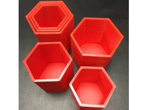 Concentric Nesting Hive Cups