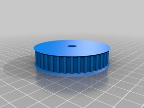 My Customized Parametric pulley - lots of tooth profiles
