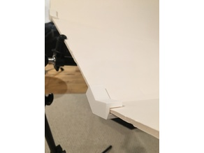 Foam Core Reflector Bender. Angle bracket