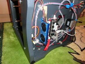 Electronics fanmount for Sumpod Basic MDF