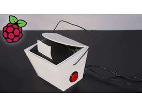 Raspberry Pi Fortune Teller Printer Takeout Box