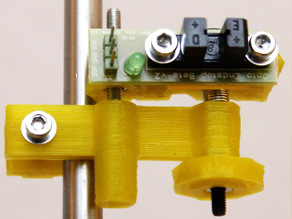 Variable holder for optical z-endstops for Prusas Mendel