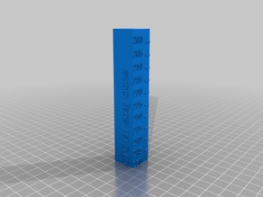 PETG temperature tower