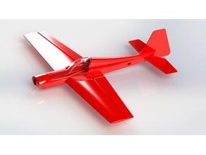 The PLA Moose! 1000mm RC plane.
