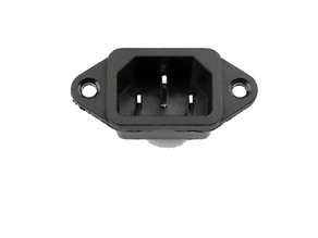 ac in 3pin male power socket IEC 320 C14 universal stand support