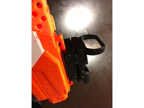 Slim Nerf Picatinny Rail Adapter