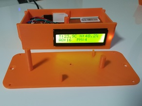 Online Particulate Matter Sensor (Temperature/Humidity as well)