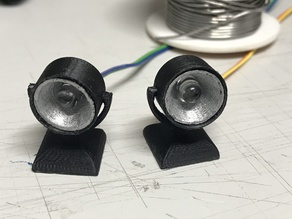 Searchlights (5mm LED) for RC boat