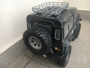 Spare Tire Carrier for RGT Rock Cruiser