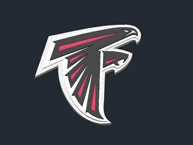 Atlanta Falcons Logo By Csdsalzburg Thingiverse