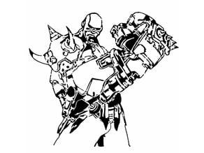 Doomfist Stencil 2