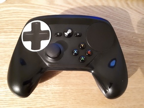 Steam Controller DPad Mod (no diagonals)