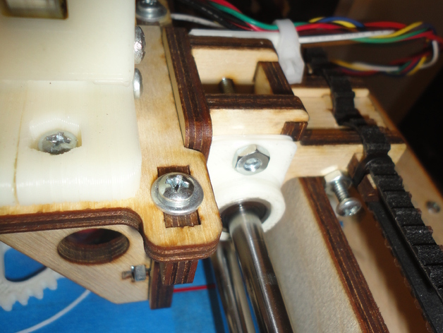 Printrbot LC X-Axis Stabalizer